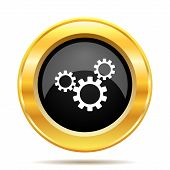 pic of gold tooth  - Settings icon - JPG