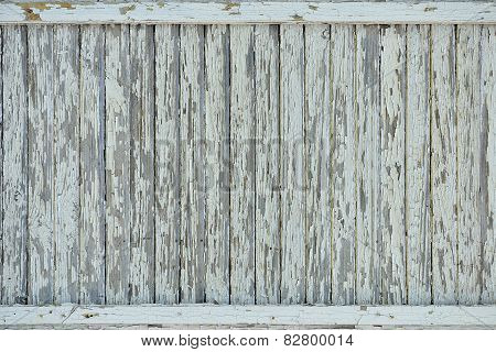 Old Paint On Wood