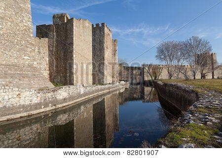Smederevo Fortress in Serbia