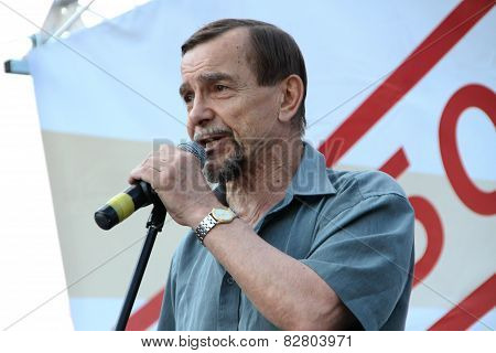 The Human Rights Activist Lev Ponomarev On Oppositional Meeting