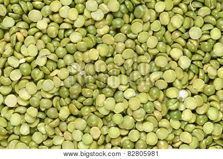 split green pea background