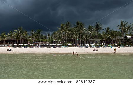 Beach Before Storm