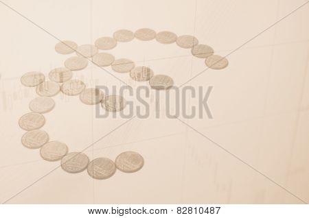 Euro concept.