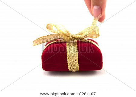 Gift box unwrapping