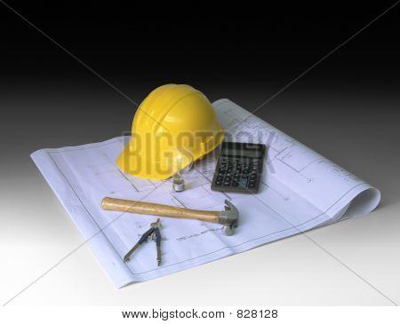 construction planning on gradient