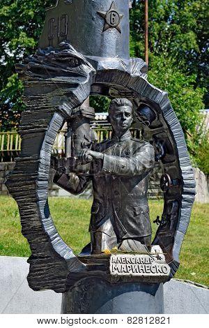 Monument To Alexander Marinesko. Kaliningrad, Russia