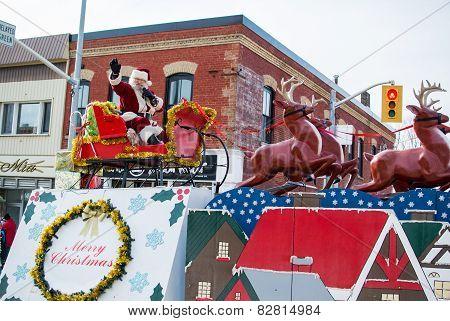 Gravenhurst Santa Claus Parade