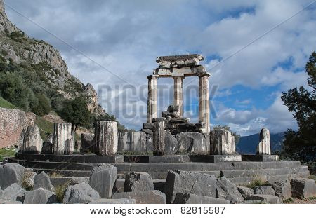 Sanctuary of Athena in Delphi