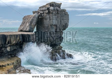 Pulpit Rock at Portland Bill