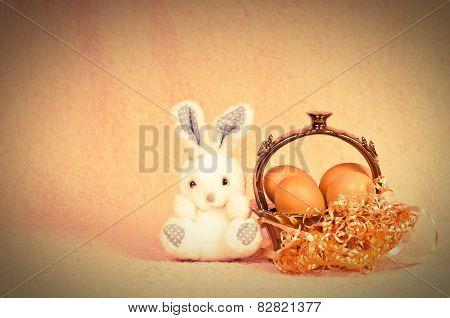 Retro Easter Rabbit