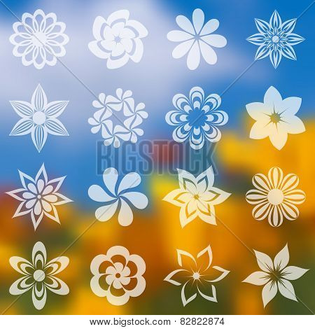 Flower Icons Collection