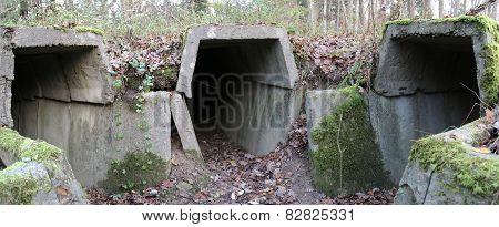 Bunker Ruins Panorama