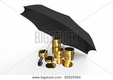 Stability And Protection In Financial, Business  And Insurance Concept 1