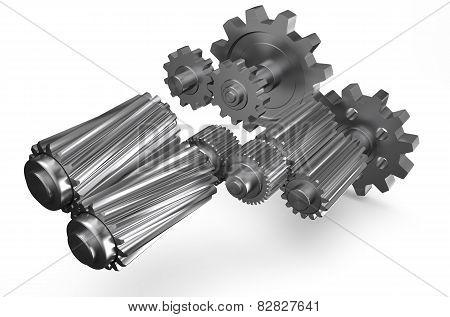 Gearwheels 4