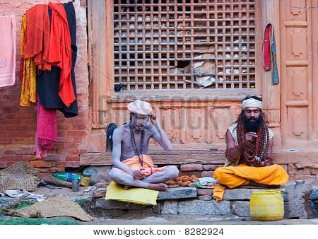 Two Shaiva Sadhu