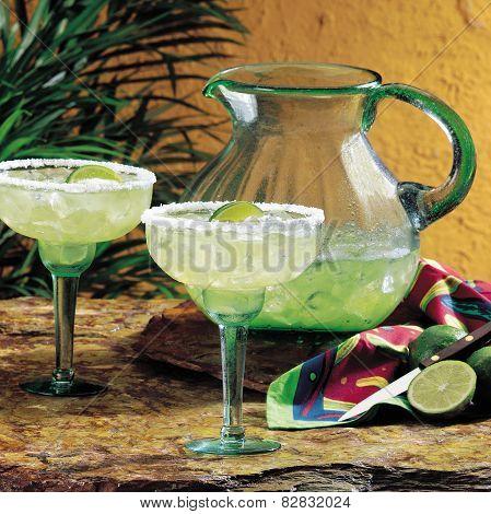 Green margaritas