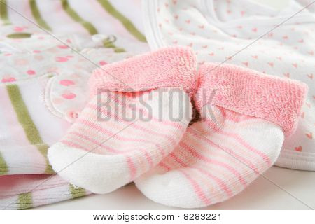 Baby Girl's Socks