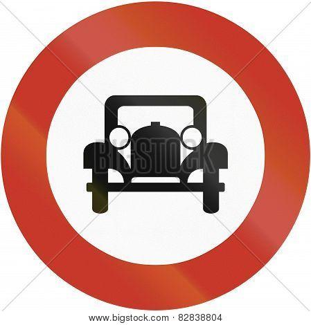 No Cars 1937