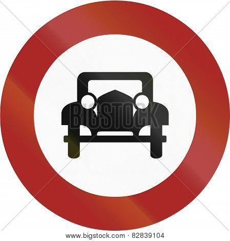 No Cars 1953