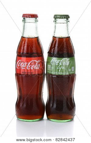 Coke And Coca-cola Life