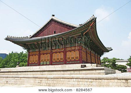 Ducksu palace in seoul, korea