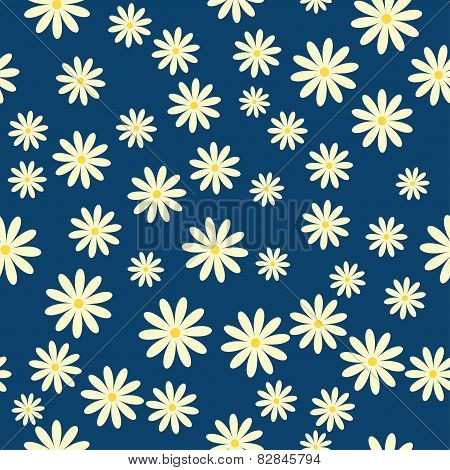 Daisies Floral Pattern