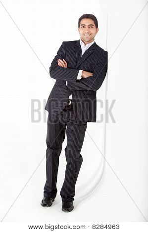 Confident Business Man