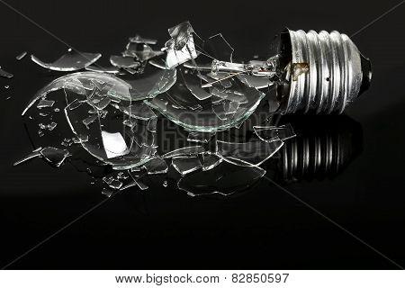 Smashed Light Bulb
