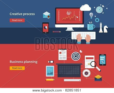 Creative process and business planning