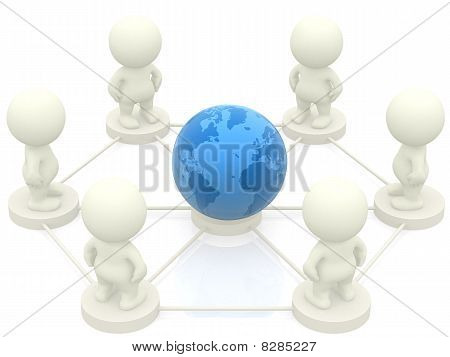 3D People Networking