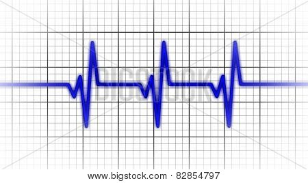 Electrocardiogram - Concept Of Healthcare