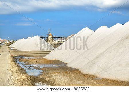 Saline Of Trapani