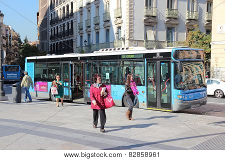 Madrid Bus