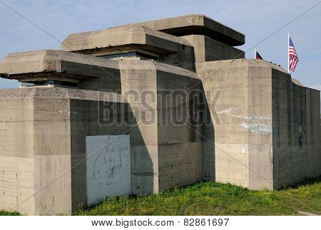 France, Le Grand Blockhaus In Batz Sur Mer