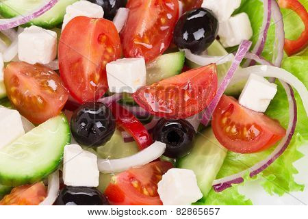 Greek salad.