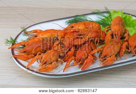 Boiled Crayfish