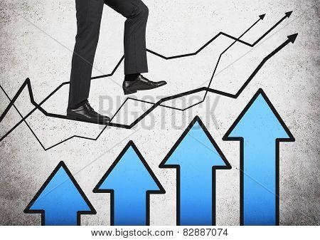 Leg Walking On Graph
