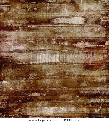 Vintage old texture with space for text or image, distressed grunge background. With different color patterns: yellow (beige); brown; gray