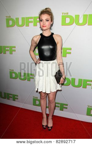 LOS ANGELES - FEB 12:  Skyler Samuels at the