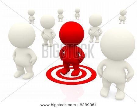 3D Target Man
