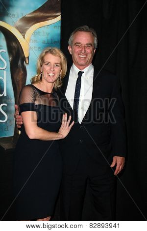 LOS ANGELES - FEB 14:  Rory Kennedy, Robert F. Kennedy, Jr. at the 2015 Writers Guild Awards at a Century Plaza Hotel on February 14, 2015 in Century City, CA