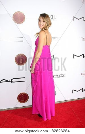 LOS ANGELES - FEB 14:  Beau Garrett at the 2015 Make-up and Hair Stylists Guild Awards at a Paramount Theater on February 14, 2015 in Los Angeles, CA
