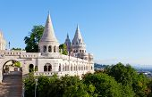 picture of fishermen  - Fisherman Bastion on the Buda Castle hill in Budapest Hungary - JPG