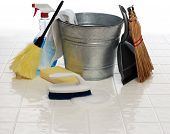 picture of cleaning service  - cleaning supplies - JPG