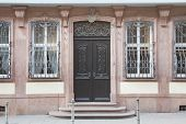 pic of frankfurt am main  - famous Goethe house entrance in Frankfurt am Main Germany - JPG