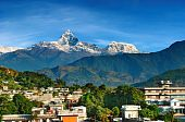 City Of Pokhara, Nepal