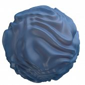 pic of nucleus  - Endoplasmic reticulum with cell nucleus 3D illustration - JPG