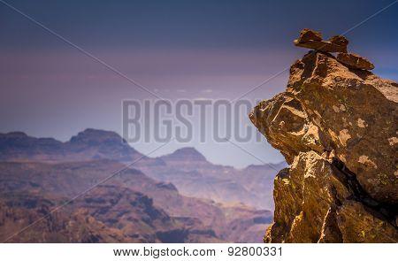 Gran Canaria rocks and mountains