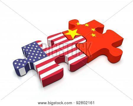 Us - China Puzzle