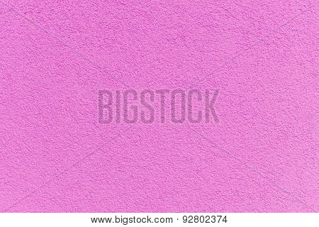 Pink Paint Facade On A Family House Texture